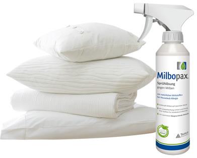 Milbopax für Allergenreduzierung in Betten