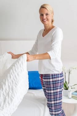 Fruehjahrsputz gegen Hausstauballergie